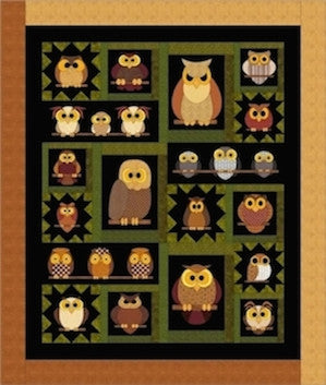 Whoo Knows Quilt Pattern
