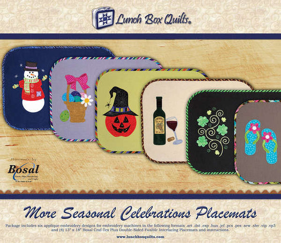 More Seasonal Celebrations Placemats