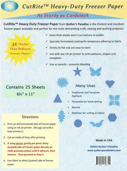 CutRite Heavy Duty Freezer Paper 25pk