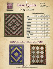 Basic Quilts - Log Cabin 1-3/4in Strips