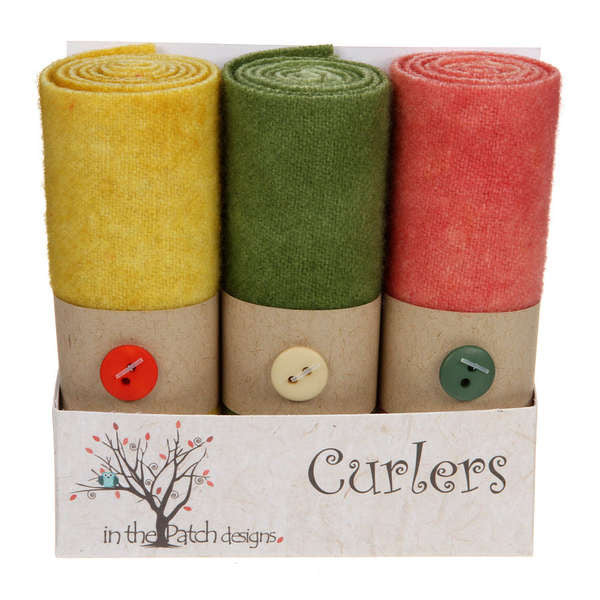 Wool Curlers 4in X 16in Peaches