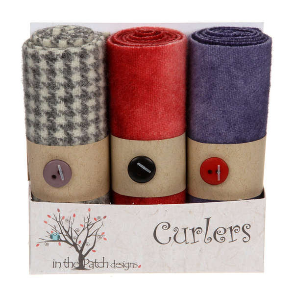 Wool Curlers 4in X 16in Valentines