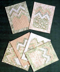 Six Halves Make A Whole Project - Zig Zag