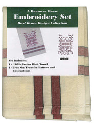 Towel Embroidery Set 1 - Home