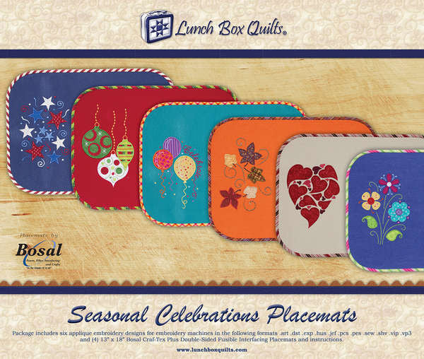 Seasonal Celebrations Placemats with CD