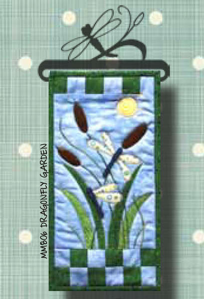 Monthly Mini Series - Dragonfly Garden