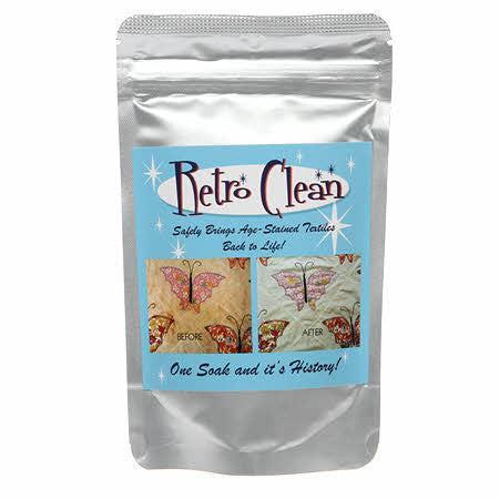 Retro Clean Soak 4oz Trial Size Bag Unscented