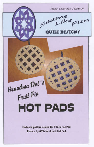 d06aa52b4 Grandma Dot s Fruit Pie Hot Pad – Quilting Books Patterns and Notions