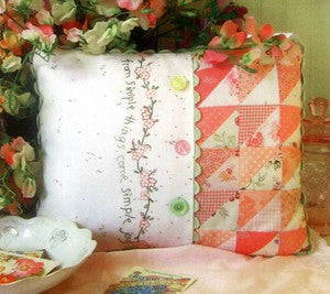 Simple Joys of Spring Pillow