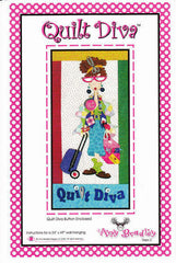 Quilt Diva (includes Quilt Diva button)