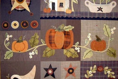 Autumn Quilt Block of the Month - Blocks 4,5,6