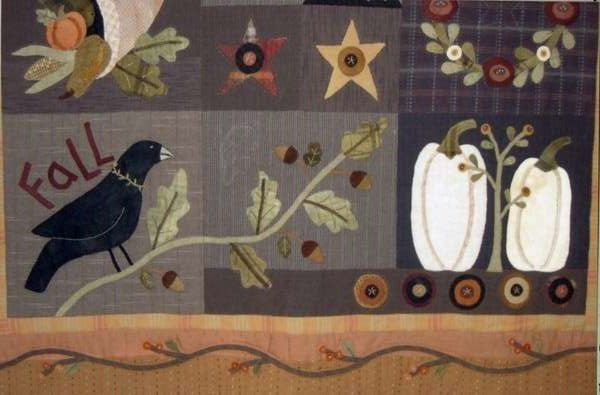 Autumn Quilt Block of the Month - Blocks 10,11,12