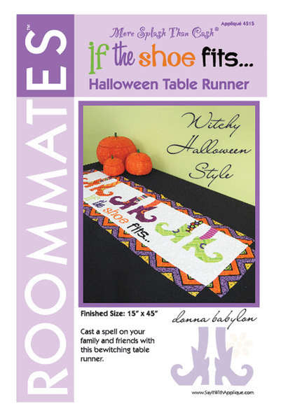If the Shoe Fits Table Runner