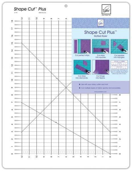Shape Cut Plus Template