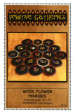 Wool Flower Pennies