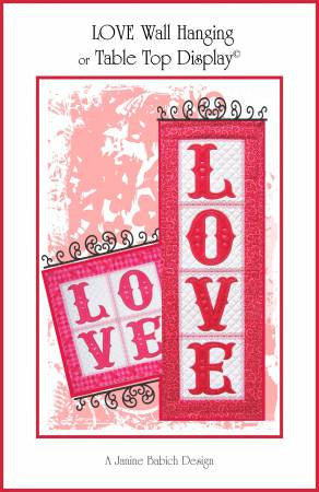 LOVE Wall Hanging & Table Top Display