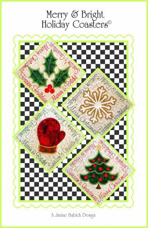 Merry & Bright Holiday Coasters