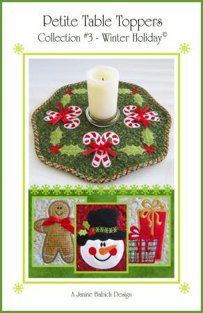 Petite Table Toppers Collection #3 - Winter Holiday