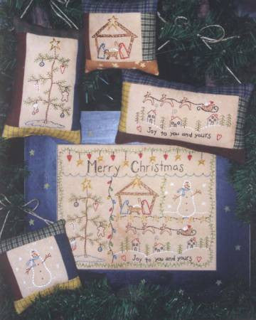 Merry Christmas Stitchery