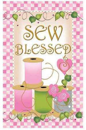Sew Blessed Magnet