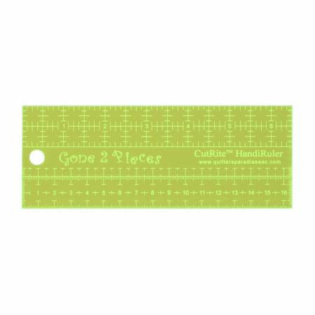 Metric CutRite HandiRuler Gone 2 Pieces