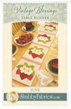 Vintage Blessings Table Runner - June