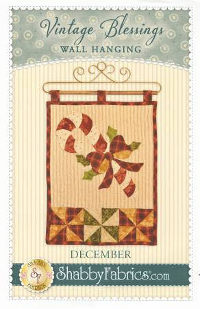 Vintage Blessings Wall Hanging - December