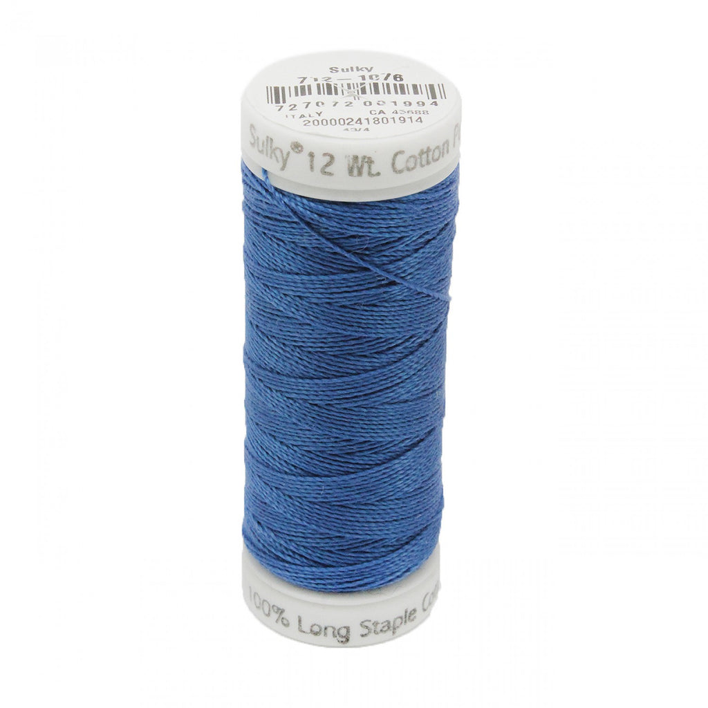 12wt Cotton Petites 50yd Royal Blue