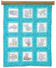 Kittens 9In Quilt Square Themes