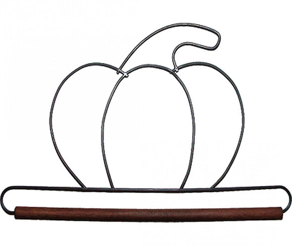 6in Pumpkin Decorative Craft Hanger