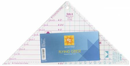 Easy Star and Flying Geese Triangle Ruler