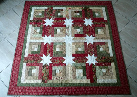 Just One Jelly Roll Log Cabin Hidden Stars Quilting Books