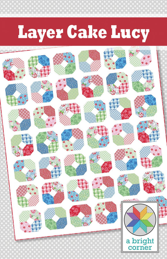 Layer Cake Lucy Quilt Pattern