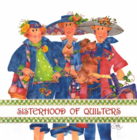 Art Panel - Sisterhood Of Quilters