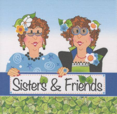 Art Panel - Sisters & Friends