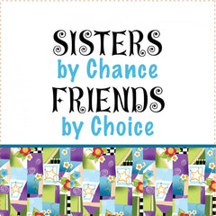 Art Panel 6in Sisters Chance