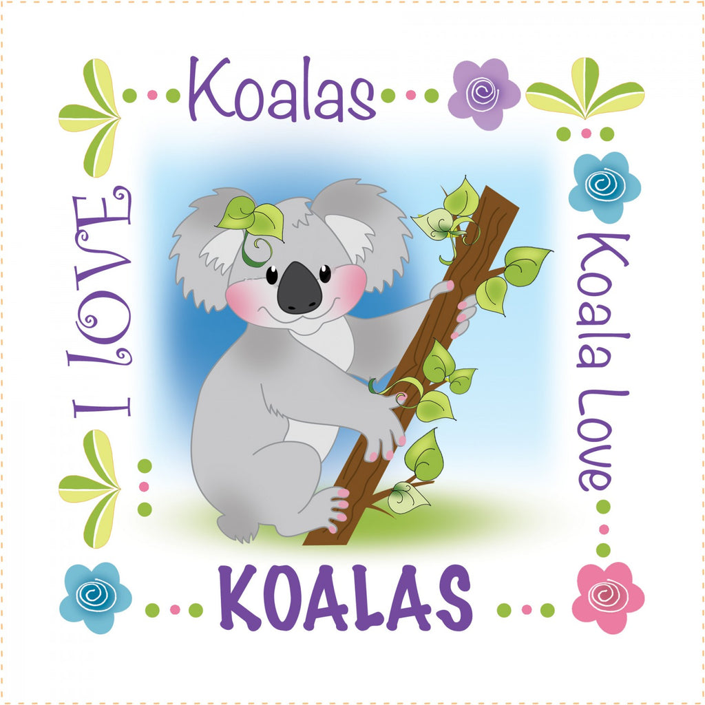 Art Panels 6in Koala