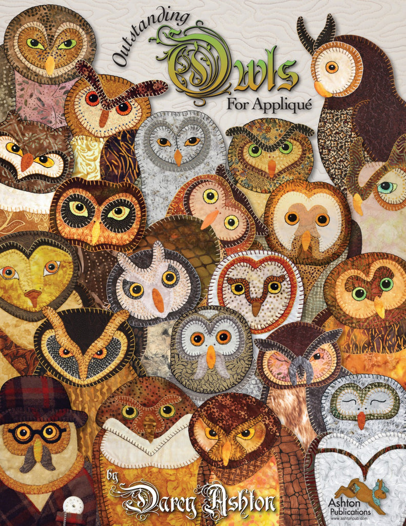 Outstanding Owls for Applique