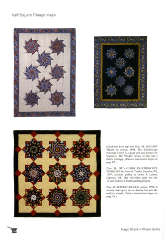 Magic Stack N Whack Quilts Quilting Books Patterns And Notions