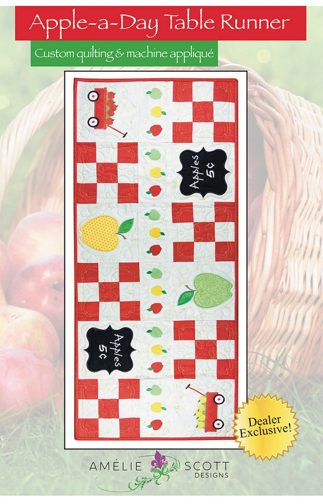 Apple A Day Table Runner