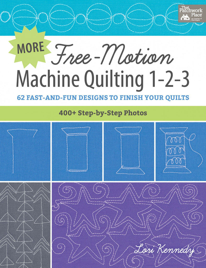 More Free Motion Machine Quilting 123