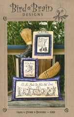 Hats & Shoes & Brooms Pattern and CD