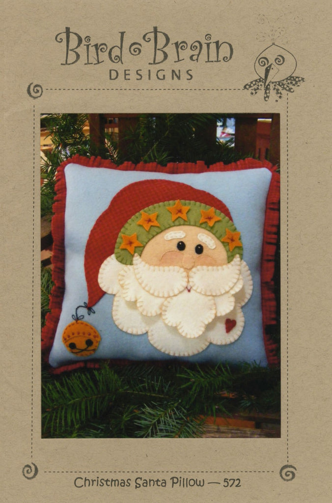 Christmas Santa Pillow