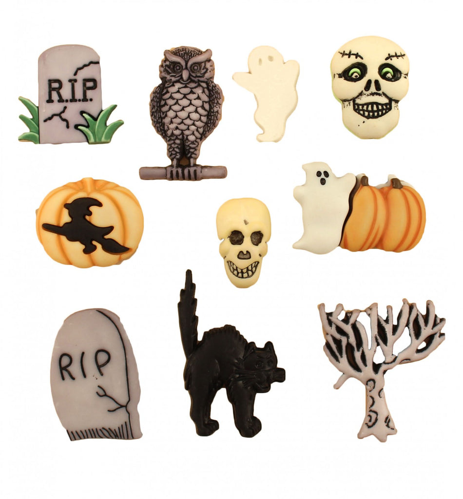Halloween Collection Graveyard Assorted Sizes