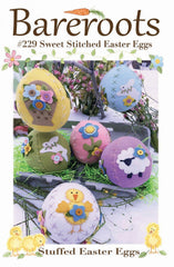 Sweet Stitched Easter Eggs