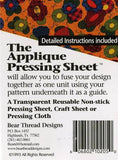 Applique Pressing Sheet 13in x 17in Rolled