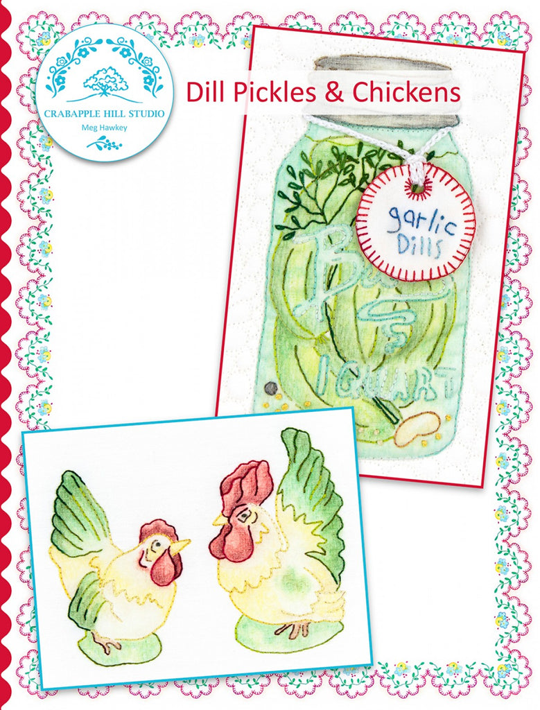 Summer Kitchen 6 Dill Pickles & Chickens