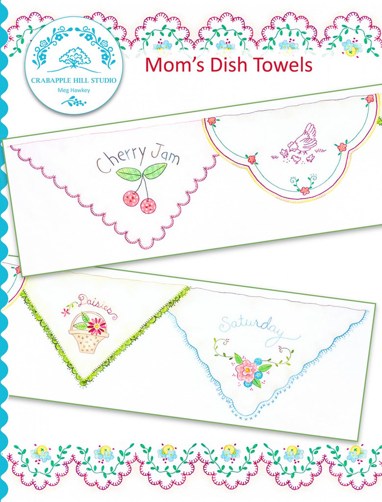 Summer Kitchen 8 Mom's Dish Towels