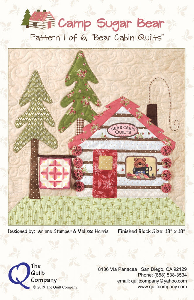 Pattern 1 Bear Cabin Quilts