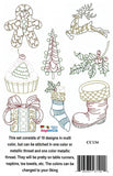 Holiday Potpourri Machine Embroidery CD